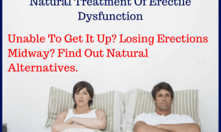 Natural Treatment Of Erectile Dysfunction