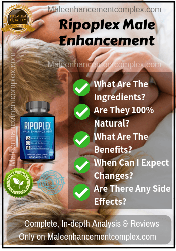 Ripoplex Male Enhancement - Reviews - Maleenhancementcomplex.com